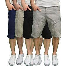 Crosshatch Mens Designer Branded Summer Combat Casual Shorts, BNWT