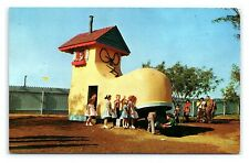 Two Vintage Postcards Storybook Land Dallas Fort Worth Texas D7