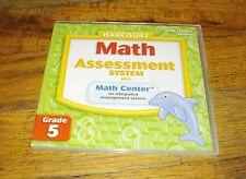 Math Assessment System with Math Center Grade 5 Site License Version