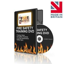 Fire Safety Training DVD - UK Training, Risk Assessments, Extinguishers