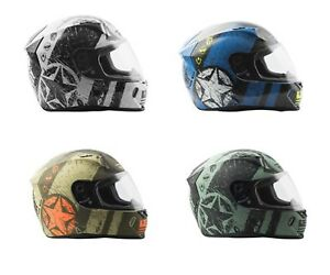 2018 Fly Racing Revolt FS Liberator Full Face Motorcycle Helmet All Size Colors