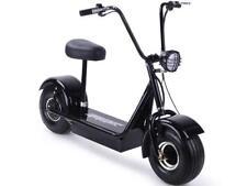 MotoTec FatBoy 48v 500w Electric Scooter Maximum Rider 250 lbs Large Headlight