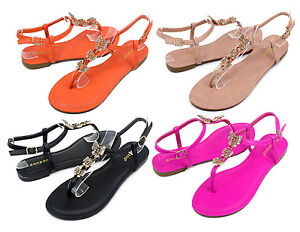 Grayson-17 New Fashion Butterfly Stone Flats Sandals Gladiator Party Women Shoes