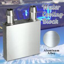 Water Cooling Heatsink Radiator Block Liquid Cooler Aluminium For CPU GPU Hot