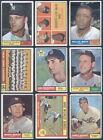 1961 Topps Baseball Complete SET Mantle Koufax Aaron Mays Clemente Maris PR-EX