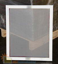 "4-Pack 18""x20"" Aluminum Frame Printing Screens 110 tpi Mesh by MSJ"