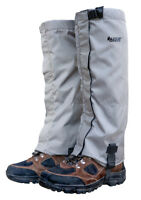 Snow Gaiters - Winter Gaiters - Mountain Gaiters - Water Resistant, Fleece Lined