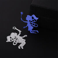 1pc magic Fairy Girl Scrapbook DIY album Card Metal Die Cut Stencil craftsFEH