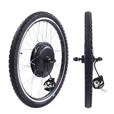 "36V Rear Wheel Electric Bicycle Motor Conversion hub Kit 500W 26"" Ebike Cycling"