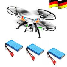 3 Akkus SYMA X8G RC Drohne XXL 8MP 1080P HD Kamera Headless Quadrocopter Drone