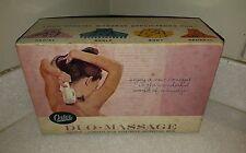 Vintage Oster DUO-massage Vibrator 206 W/4 Applicators In Box RARE EXCELLENT!