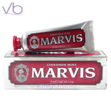 MARVIS Toothpaste Cinnamon Mint 25ml - (Red, Whitening, Made in Italy, Travel)