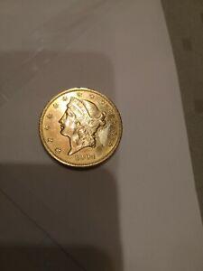"""GOLDMÜNZE 20 DOLLARS LIBERTY HEAD 1904 """"DOUBLE EAGLE"""