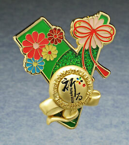 OLYMPIC PINS BADGE 2020 2021 TOKYO JAPAN LETTER Y 3D WORD CITY SIGHTS