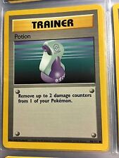 94/102 COMMON TRAINER POTION ORIGINAL 1999 BASE Pokemon Card UNPLAYED NM-M