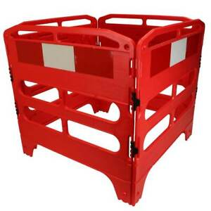 Road Traffic Safety Utility Street Barrier Kit 750mm & 1000mm Chapter 8 Red