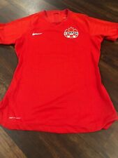 New Nike Women's Canada Vaporknit Soccer Jersey Size Medium Red Maple Leafs