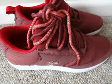 Lacoste Sport Light -01 COM trainers shoes burgundy uk 4 eu 37 us 6 new