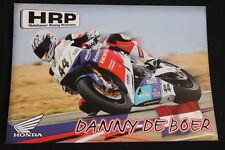 Card HRP Honda CBR 1000RR 2014 #44 Danny de Boer (NED) IDM Superbike (HW)