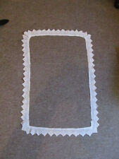 Piece of 1950s Filet Crochet Edging for Pillow case/Tray Cloth