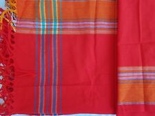Kikoy / Kikoi - Kenyan Sarong / Scarf / Wrap - NEW - RED