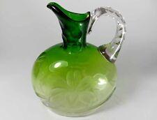SELTEN!!! Karaffe  Glas Moser, um 1900