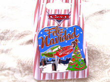 Disney * FELIZ NAVIDAD - CARS - RAMON * Sparkle Trimmed Holiday Pin