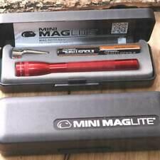 Maglite Mini 12,5 Cm Rossa Torcia Lampada M3a032