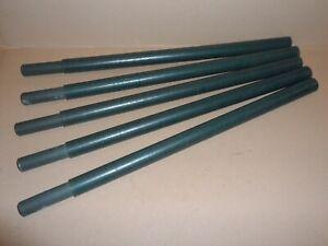 Tarnnetz Stützstange Glasfaser GFK Rohr Zelt Stange Fiberglas 300 600 1200 37mm
