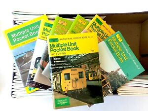 Platform 5 British Railways Pocket Stock Books Neatly UNDERLINED on a few pages