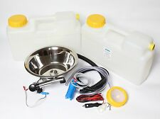 WOW 12V Miniküche Campingküche Küchenblock Bausatz Rundspüle 28 cm London Aktion