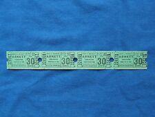 Vintage 30 Cent Arnett Theatre Tickets (Strip of 4) Drive-In Movie/ Cinema