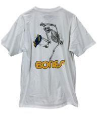 Powell Peralta Bones Skeleton Skateboarding T-Shirt Large