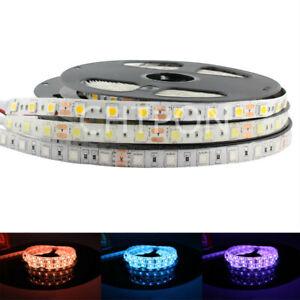 5V 12V 24V RGB LED Strip Light 5050 5M Tape Led Strip lamp Tv Backlight Ribbon