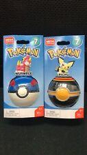 Mega Construx Pokemon Pokeball PICHU & Wurmple FVK65&66 SERIES 7