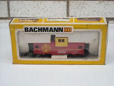 Vintage Bachmann Santa Fe Atsf Wide Vision Caboose Ho scale Nib, item #1070