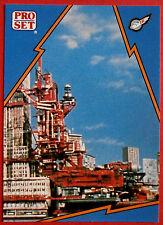 Thunderbirds PRO SET - Card #080 - Terror in New York City - Pro Set Inc 1992