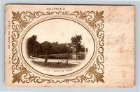 Columbus OH, Franklin Park, Lake, Fountain, Vintage Ohio Postcard A46