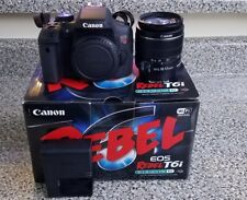 Canon Rebel T6i Bundle Kit with 18-55mm Lense and Lowerpro Carrying Bag