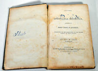 Antique 1853 Religious Book Apostolical Succession Rev. Abby of Mississippi