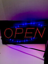 Led Ultra Bright Lighted Flashing Open Sign