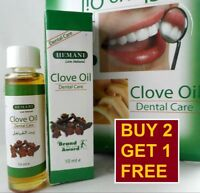 Hemani Clove Oil 10ml Dental Care Toothache For Fast Pain Relief BUY 2 GET 1 FRE