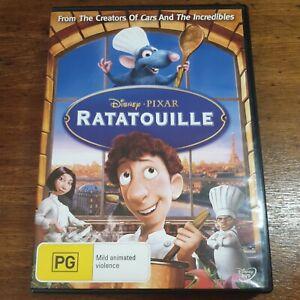 Ratatouille Disney Pixar DVD R4 LIKE NEW FREE POST Animation/Anime