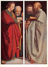 BT7307 Albrecht Durer the four apostles munic alte pinakothek    Germany
