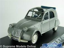 CITROEN 2cv Model Car 1 43 Scale 1957 IXO Grey 4 Door Open Top K8