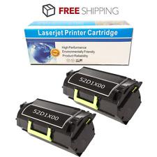 2 PK Toner Cartridge for Lexmark MS811DN MS811DTN MS811N MS812DE MS812DN 52D1X00