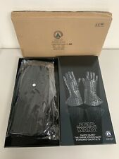 Anovos Star Wars Darth Vader ESB Leather GLOVES Costume Prop Replica NEW M/L
