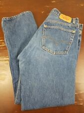 LEVI'S Vintage 501xx Buttonfly Jean Made in USA 33x32 Medium Wash