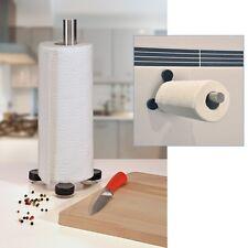 INOX Porte-rouleau de cuisine papier Support Venteuses