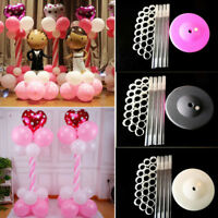 4/55pcs Ballon Base Stand Balloon Column Stand Wedding Party Arch Folder--